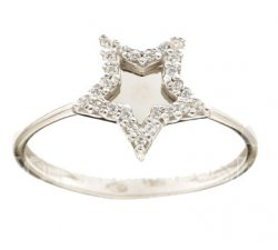 White Gold Woman Ring 803321733301