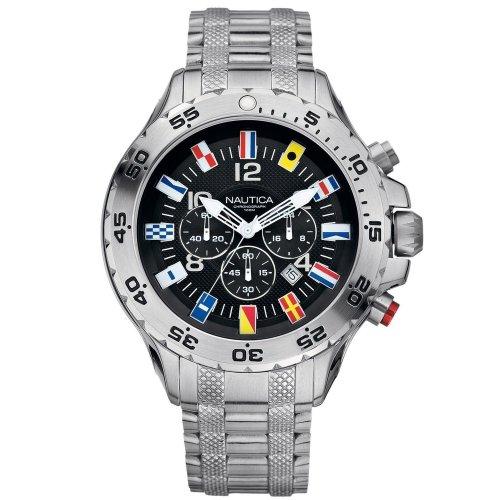 Nautical men's watch A29512G Bandierine Steel bracelet