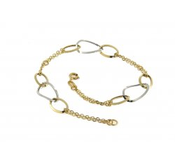 Women's bracelet Yellow and white gold 164549