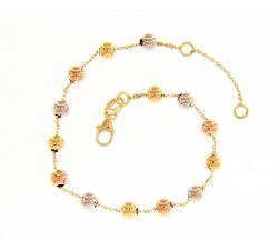Women's bracelet Yellow, white and pink gold 234574