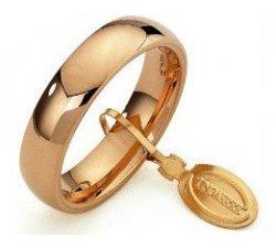 Unoaerre Comfortable Wedding Ring 5 mm Yellow Gold