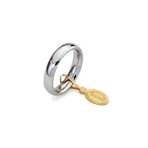 Unoaerre Wedding Ring Convenient 4 mm White gold