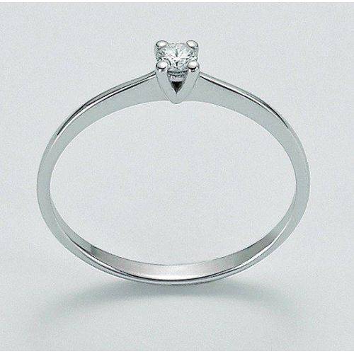 Yukiko solitaire women's ring in 750 gold LID2931Y_004S