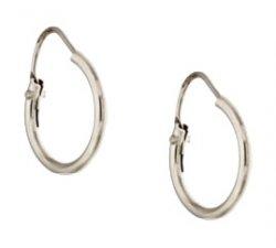 White Gold Woman Earrings 803321703094