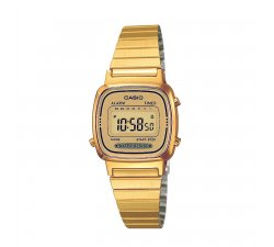 CASIO women's watch LA670WGA-9DF Steel PVD gold gilt Vintage