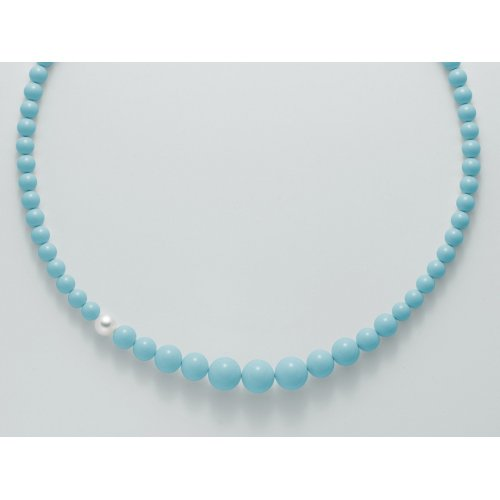 Yukiko Turquoise Earth and Sea Collection Necklace PCL4664Y