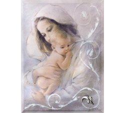 Quadro Acca Argenti Madonna con Bambino QS.522M