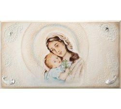 Quadro Acca Argenti Madonna con Bambino QS.876M