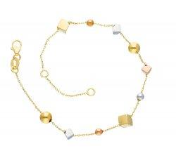 Bracciale da donna Oro giallo e bianco 245351