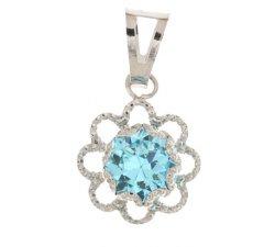 Women's pendant light point White gold 803321737007