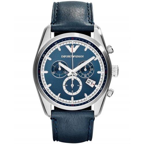 Orologio EMPORIO ARMANI da Uomo AR6041 Cronografo in Acciaio