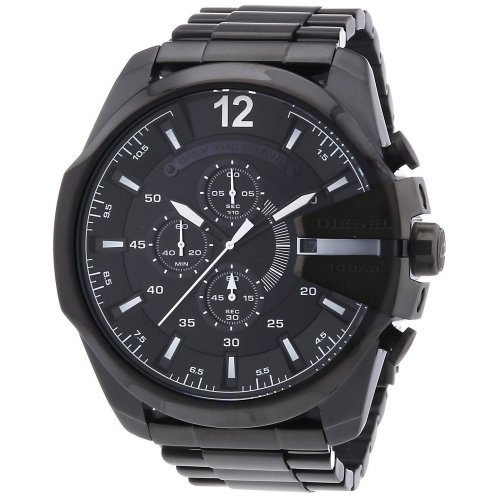 DIESEL Mega Chief DZ4283 Chronograph Men's Watch Black