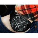 Orologio da uomo DIESEL Mega Chief DZ4283 Cronografo Nero