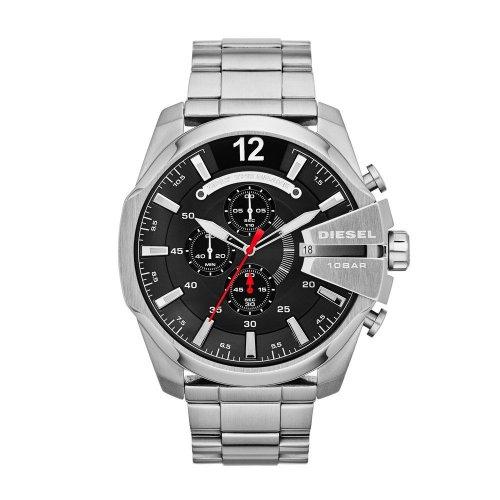 Orologio da uomo DIESEL Mega Chief DZ4308 Cronografo in acciaio