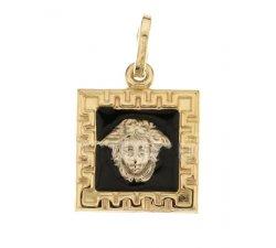 Ciondolo testa di Medusa oro giallo 803321734358