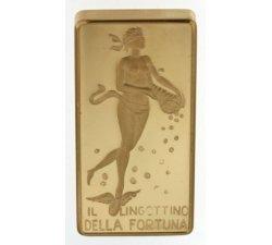 Unoaerre fortune ingot 10 grams 750 18kt gold