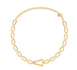 Valentina Ferragni Studio Nina Gold DVF-CO-01 necklace