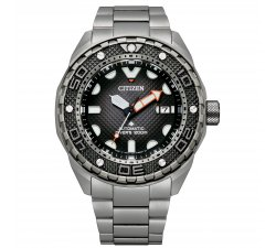 CITIZEN Men's Watch NB6004-83E Diver's Automatic 200 mt Super Titanium