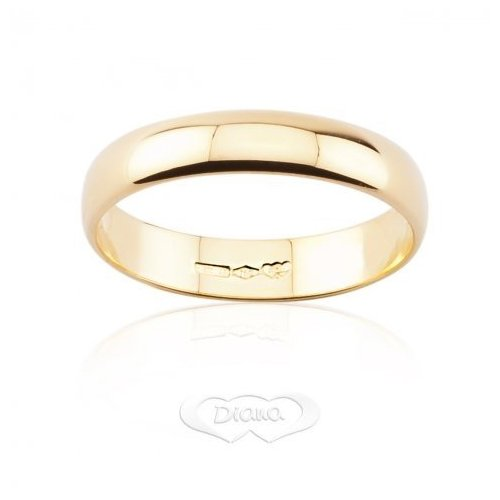 DIANA Wedding Ring 3 grams Yellow Gold Classic Wide Band