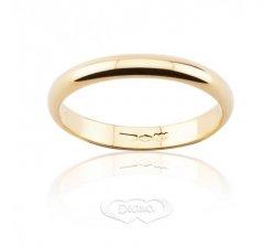 DIANA Classic Wedding Ring 3 grams Narrow band Yellow gold
