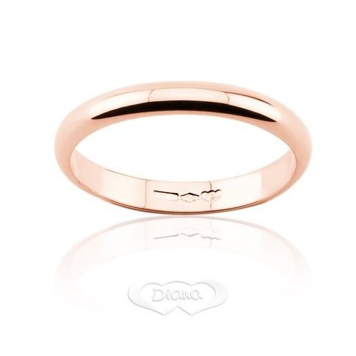 Diana Wedding Ring 3 grams Rose Gold Classic Narrow Band