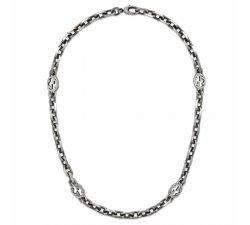 Collana Gucci Donna Collezione Interlocking YBB62079600100U
