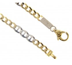 Men's Bracelet in Yellow and White Gold MMW080GB21