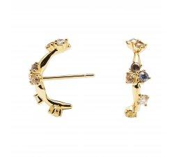 PDPaola Woman Earrings Five Zoe Gold collection AR01-290-U