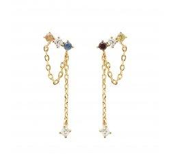 Orecchini PDPaola Donna collezione Five Mana Oro AR01-297-U