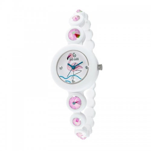 Orologio da donna So Funny by Stroili Fenicottero B0656-20 in silicone