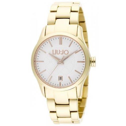 Orologio da donna Liu Jo Luxury Collezione Tess TLJ886 dorato bianco