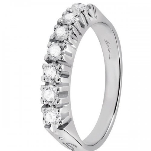 Salvini eternity ring in white gold and diamonds Matilda collection