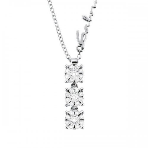 Salvini necklace in white gold and diamonds Daphne Chic collection
