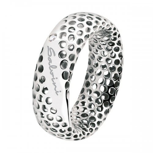 Salvini ring in 9kt white gold Golden Cage collection 20064617