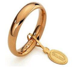 Unoaerre Wedding Ring Convenient 3.5 mm Yellow gold
