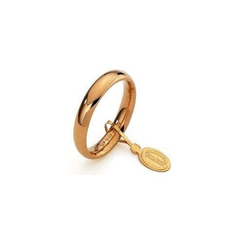 Fede Nuziale Unoaerre Comoda 3,5 mm Oro giallo
