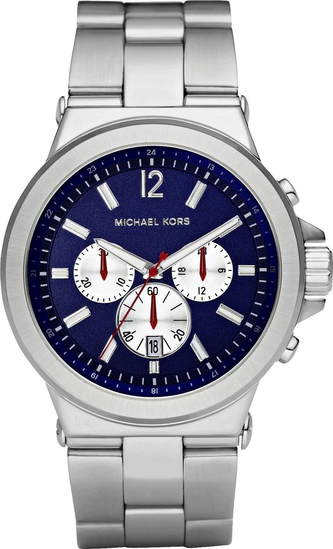 brand new f9219 d8494 Orologio Michael Kors da uomo in acciaio MK8171 - GioielleriaLucchese.it