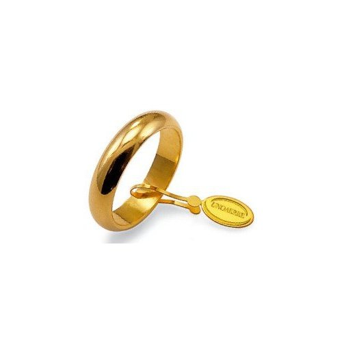 Unoaerre Wedding Ring 10 grams Yellow Gold Classic