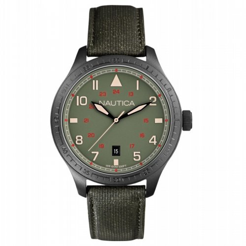 Military Green Nautical Men's Watch A11108G BDF105