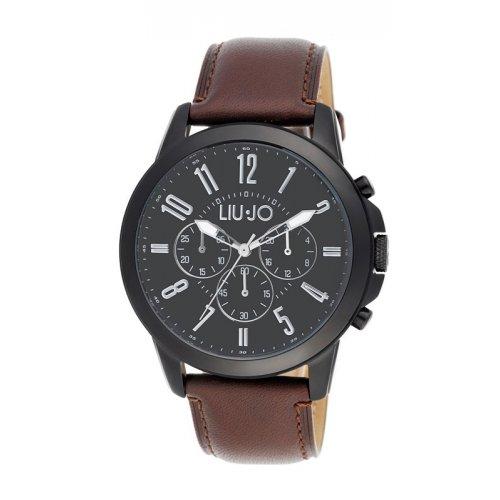 Liu Jo men's watch TLJ826 Chronograph Jet Black collection