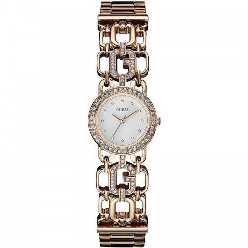 Orologio Guess da donna in acciaio oro rosa Spellbound W0576L3