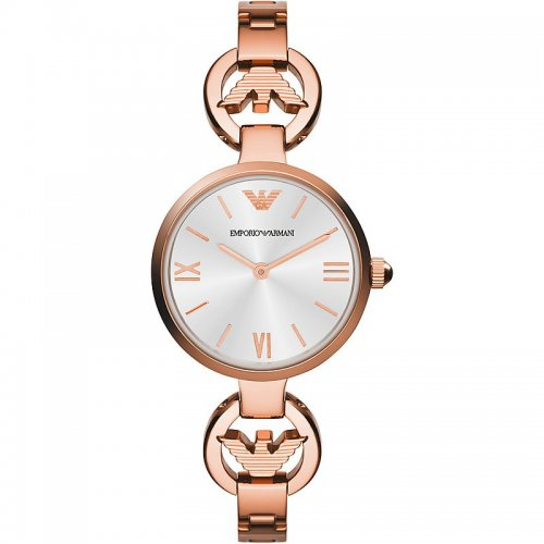 Emporio Armani AR1773 women's watch Rose gold steel