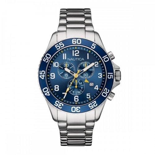 Orologio Nautica da uomo NAI17508G Acciaio Cronografo