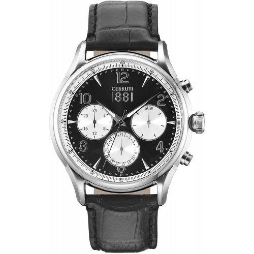 Cerruti 1881 men's watch Bellagio collection CRA107SN02BK