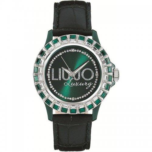 Orologio LIU JO Luxury da donna Collezione Baguette TLJ164 Verde Smeraldo