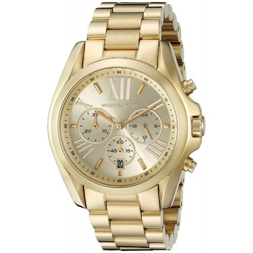MICHAEL KORS Watch Bradshaw Collection MK5605 Golden