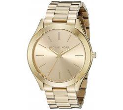 MICHAEL KORS women's watch Slim Runway MK3179 collection golden