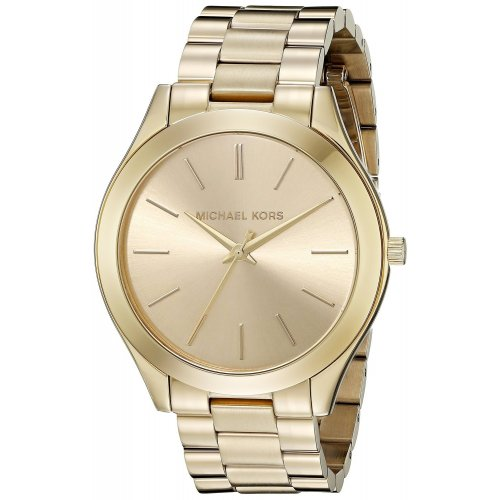MICHAEL KORS women's watch Slim Runway MK3179 collection golden