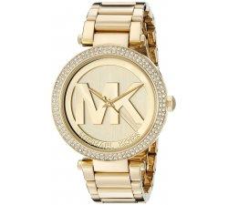 Orologio da donna Michael Kors in acciaio dorato Parker MK5784