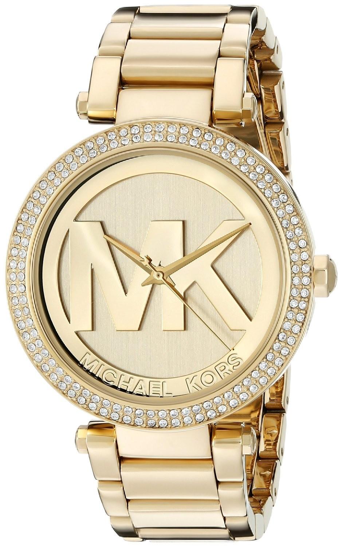 orologio dorato michael kors